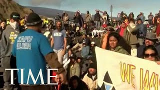 Hawaiian Elders Arrested As Standoff Continues Over A Telescope Slated For A Sacred Mountain | TIME