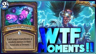 Hearthstone - Boomsday WTF Moments - Daily Funny Rng Moments