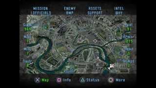 """SOVIET STRIKE - Mission 05: """"Kremlin Strike"""" (PS1, SLUS-00061, Greatest Hits Series 1998)"""