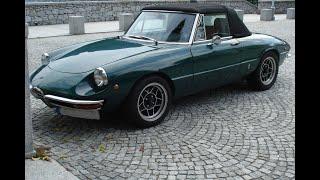1750 Alfa Romeo Spider Turbo / 0 km/h - 240 km/h