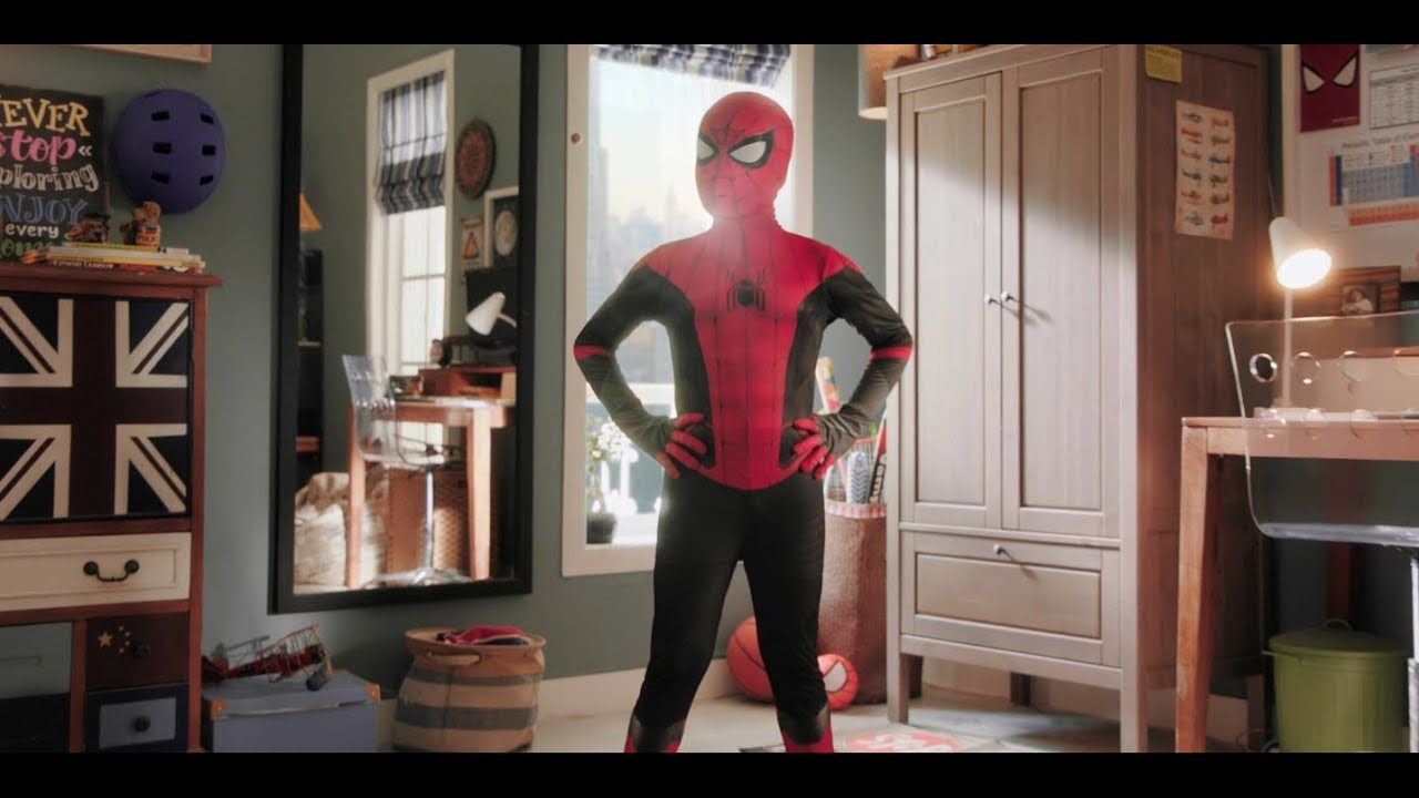 Center Fruit: Spider-Man Far From Home TVC
