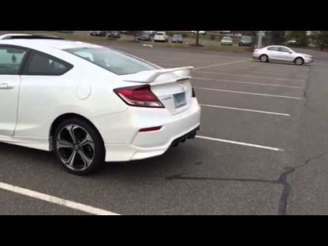 Honda Civic Se And Body Kit 2015 Youtube