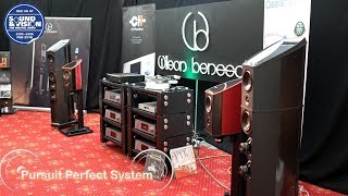 Wilson benesch CH Precision DS Audio Clearer Audio @ Bristol Show Sound and Vision 2018