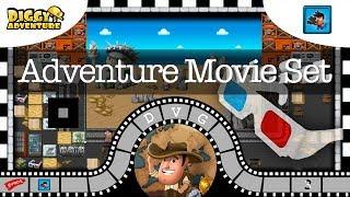 [~Movie Madness~] #3 Adventure Movie Set - Diggy