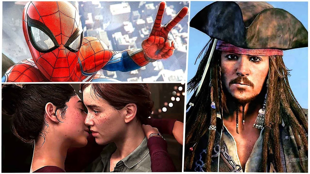 E3 2018 : All Best Game Trailers from PLAYSTATION CONFERENCE