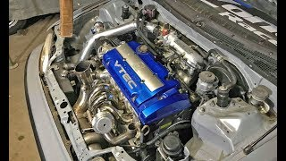 H22 Turbo CRX Gets GOODIES !