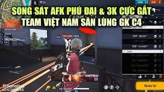 Free Fire | Song Sát AFK Phú Đại Và 3K Quẩy Nát Kẻ Thù - Việt Nam Săn Lùng GK C4 | Rikaki Gaming