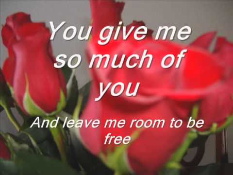 You Are The Love Of My Life  W/ Lyrics