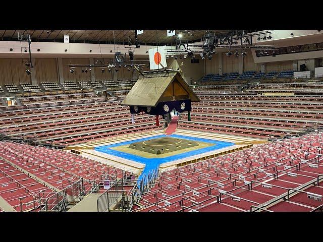 【史上初。無観客】大相撲初日序ノ口から結びの一番まで10時間配信