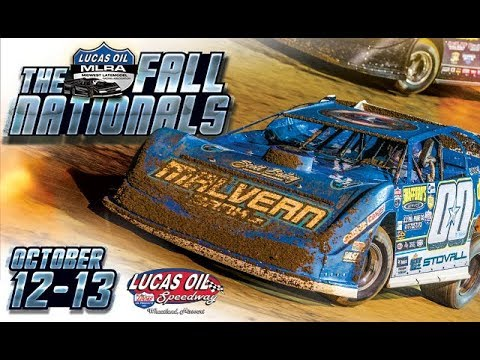 Oct. 12th-13th, 2018: 5th Annual Lucas Oil MLRA Fall Nationals
