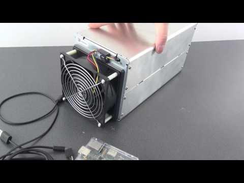 Unboxing Avalon 721 Bitcoin Miner