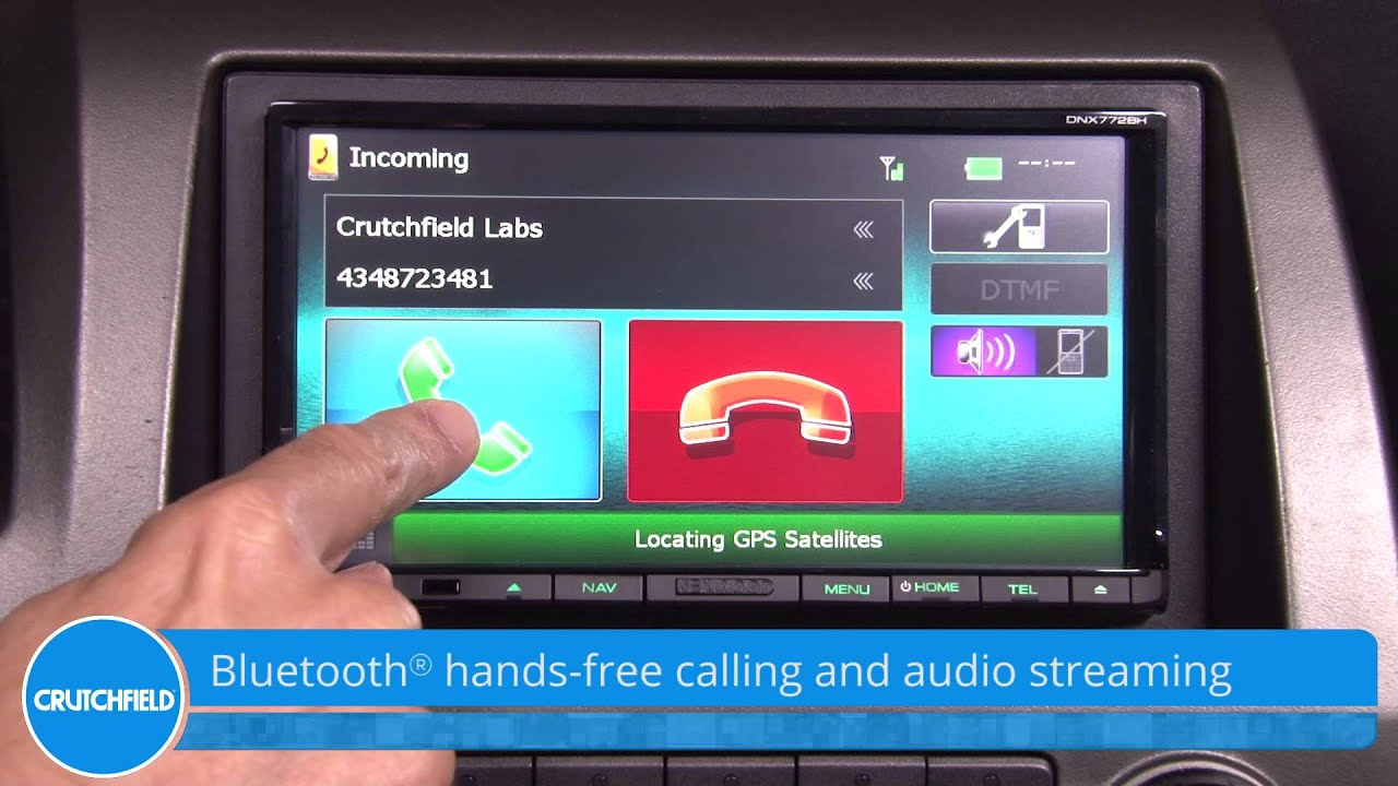 Kenwood DNX772BH Display and Controls Demo | Crutchfield Video