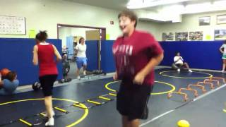 vuclip Big bouncing tits in gym class