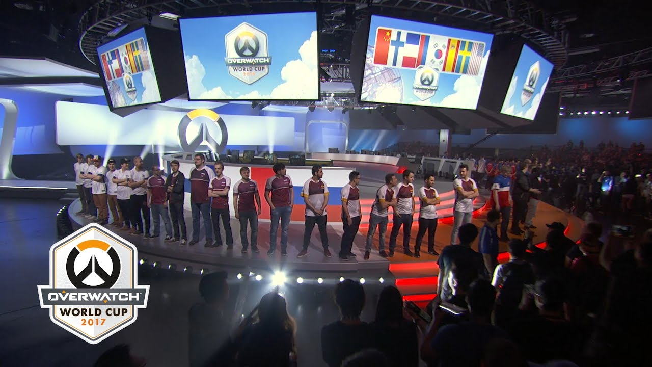 Blizzard Blizzcon Overwatch World Cup