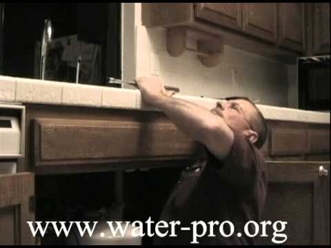 How To Replace A Reverse Osmosis Faucet or Water Filter Faucet - YouTube