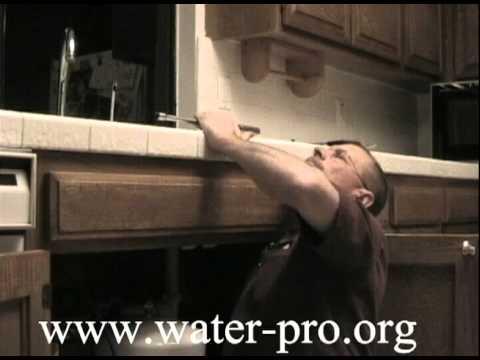reverse osmosis water filter hook up