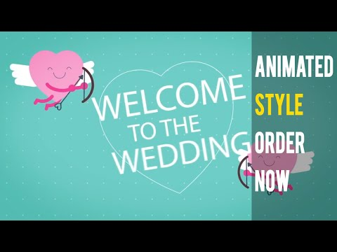Cute Love Wedding Invitation