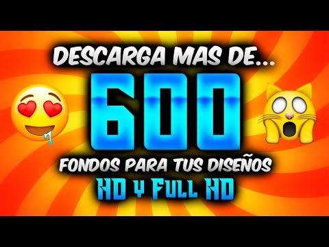 DESCARGA MAS DE 600 FONDOS PARA TUS DISE�OS