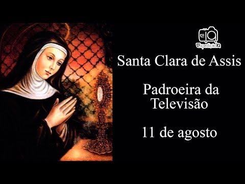 História da vida de Santa Clara de Assis - Padroeira da Televisão