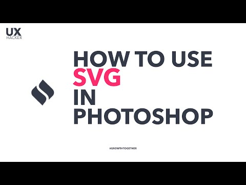 How to use SVG in Photoshop? Use this plugin SVG Layer - YouTube