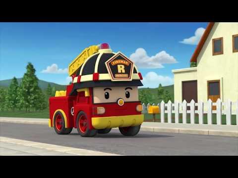Робокар Рой и пожарная безопасность - Все серии подряд - Мультик про машинки