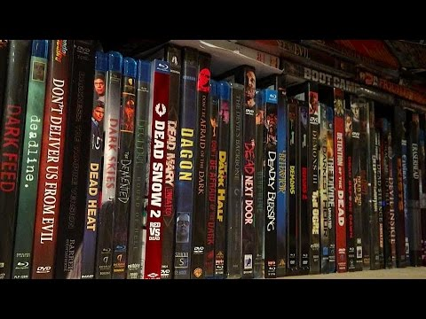 My Entire Horror Movie Collection My Dvd Blu Ray