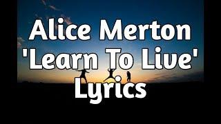 Baixar Alice Merton - Learn To Live (Lyrics)🎵