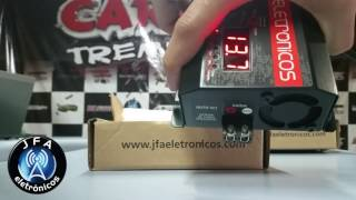 Lançamento fonte automotiva JFA 10 amperes