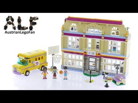 Lego Friends 41134 Heartlake Performance School - Lego Speed Build Review