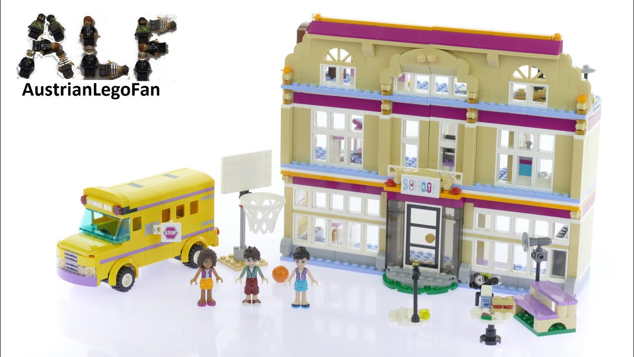Lego Friends 41134 Heartlake Performance School Lego Speed Build
