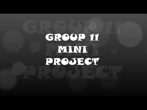 MINI PROJECT HEAT TRANSFER GROUP 11