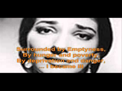Maria Callas: La Mamma Morta (Andrea Chenier)