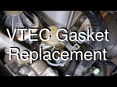 Vtec Solenoid Gasket Replacement