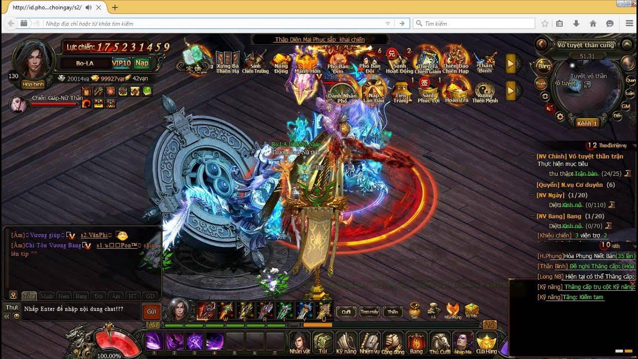 ✔[Phong Vân Lậu] FULL Vàng + Lever trong Game 99999999 KNB Việt Hóa