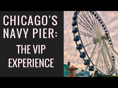 Navy Pier Ferris Wheel in Chicago - 2017