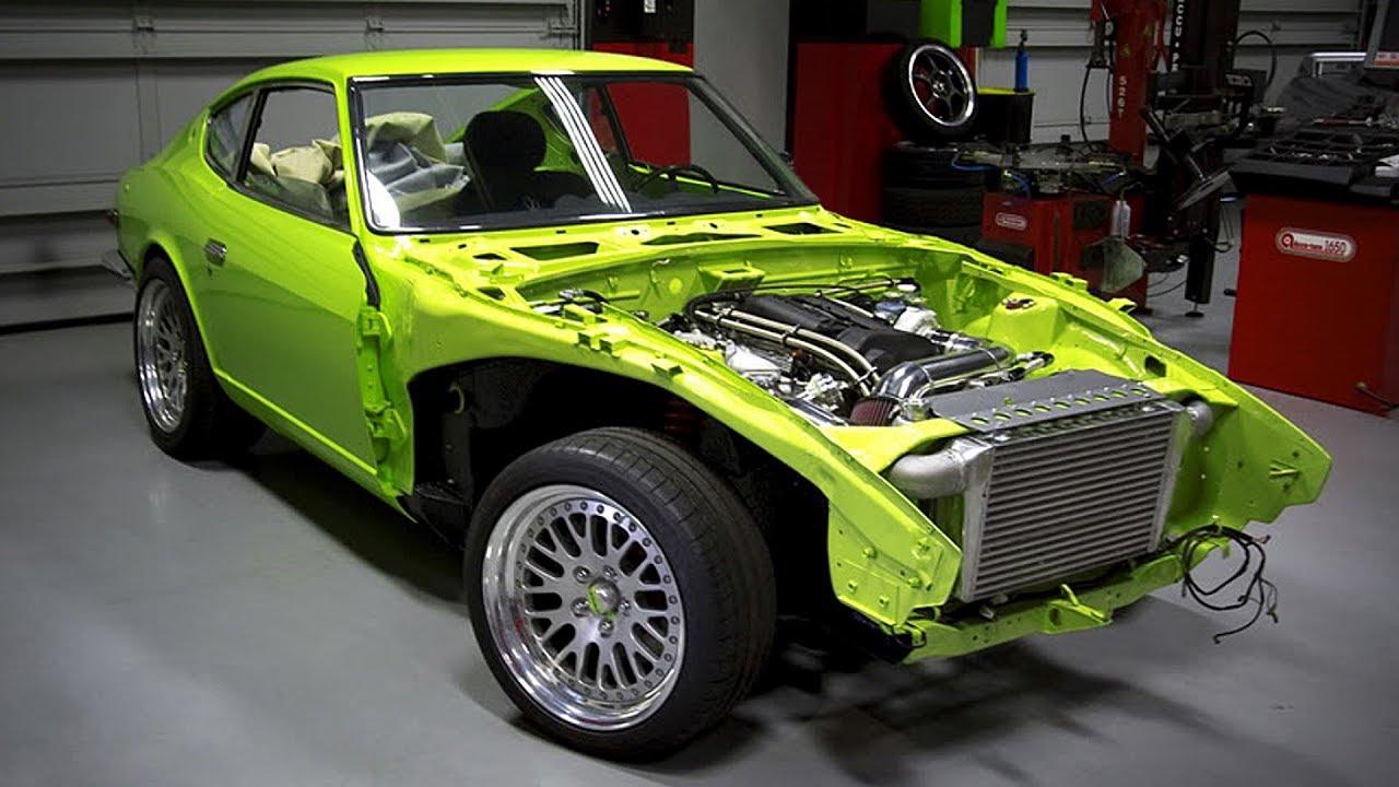 1972 Datsun 240Z S15 Silvia SR20DET Turbo 430HP Build Project