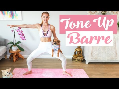 Beginner Barre Workout TONE UP | Rebecca Louise