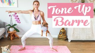 Beginner Barre Workout - TONE UP | Rebecca Louise