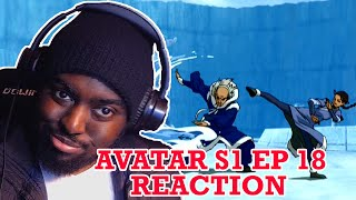Katara got them HANDS! -  Avatar The Last Airbender Episode 18: The Waterbending Master