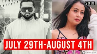 Top 10 Hindi/Indian Songs of The Week July 29th-August 4th 2019 | New Bollywood Songs Video 2019!