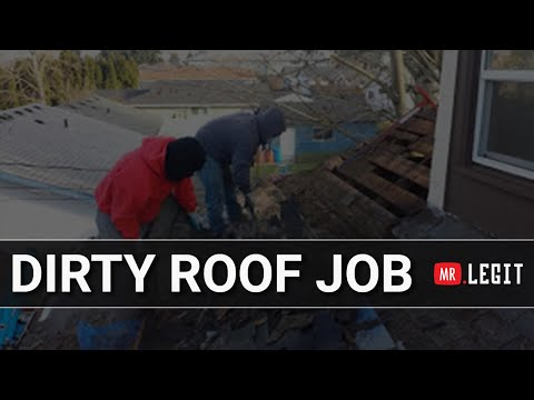 Dirty Roof Job - Legit Roofing Contractor | Vancouver, WA | Portland, OR