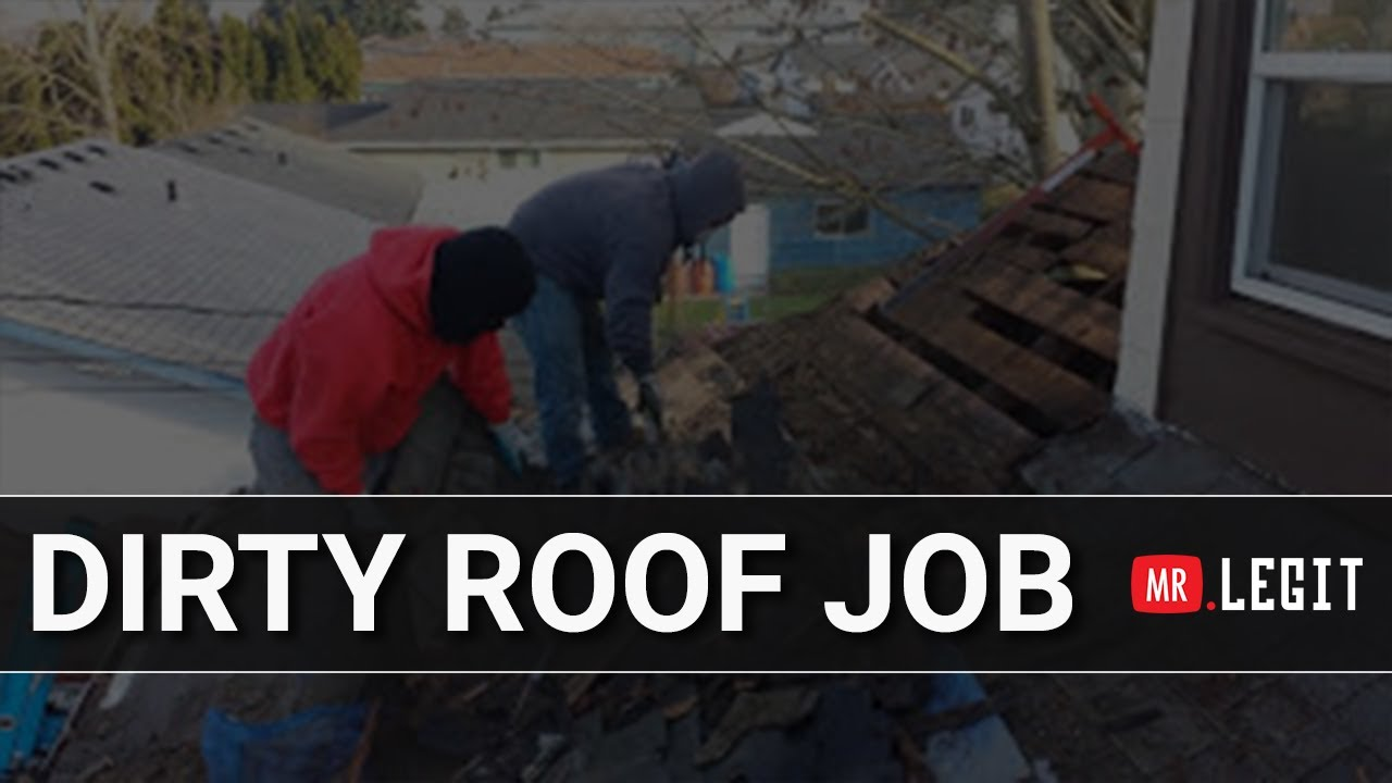Dirty Roof Job   Legit Roofing Contractor | Vancouver, WA | Portland, OR