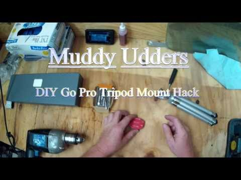 DIY GOPRO TRIPOD MOUNT HACK FOR FREE