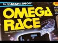 Classic Game Room - OMEGA RACE review for Atari 2600