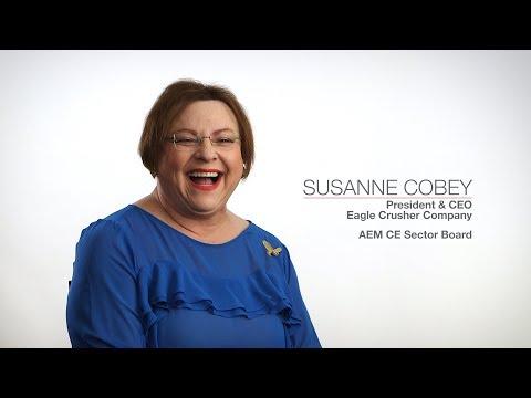 AEM Leadership Stories: Susanne Cobey, Eagle Crusher