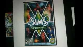 Sims3 plus supernatural info