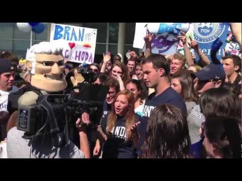 Brandeis University - Rally for the TODAY Show