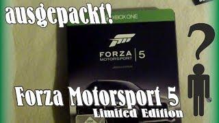 Ausgepackt! Forza Motorsport 5 Limited Edition - Unpacking Deutsch HD