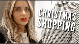CHRISTMAS COME SHOPPING WITH ME - VLOGMAS | Fashion Influx