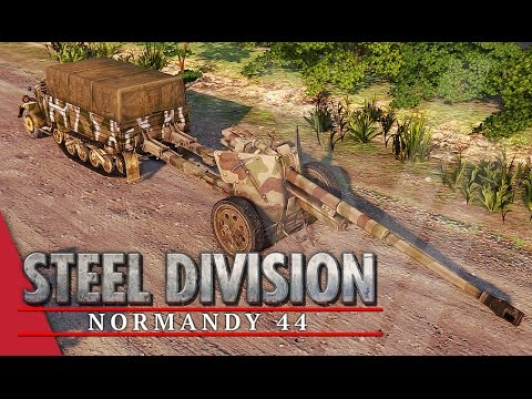 17th SS-Panzergrenadier Division! Steel Division: Normandy 44 Beta Gameplay #16 (Omaha, 3v3)
